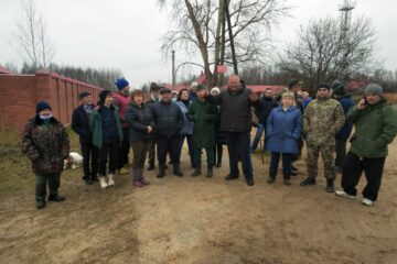 В Тверской области жители Тургиново подключились к ремонту дорог