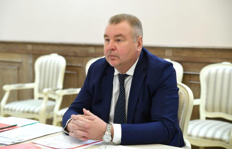 Игорь Руденя провел встречу с главой Калининского района Андреем Зайцевым