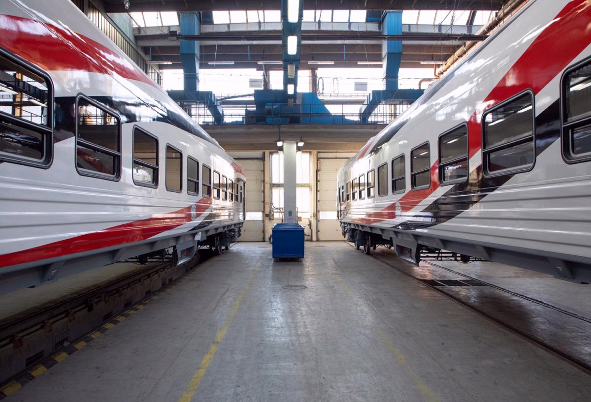 Первые вагоны по контракту с Тверским вагонзаводом прибыли в Египет