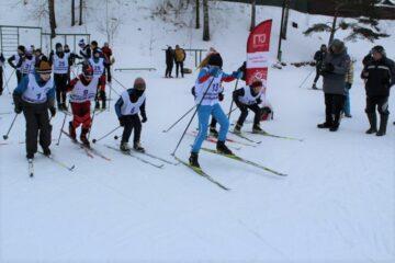 В Твери лыжники-любители сдавали нормы ГТО
