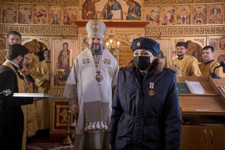 Тверской митрополит посетил женскую колонию