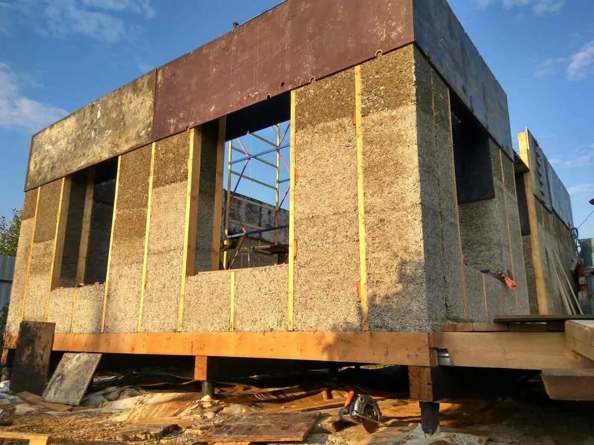 Житель Тверской области построил необычный дом