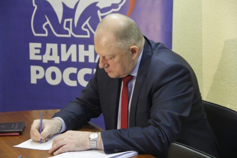 На праймериз «Единой России» свою кандидатуру выдвинул спикер тверского парламента