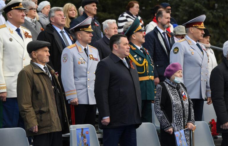Во Ржеве прошли торжества в честь 76-ой годовщины Победы