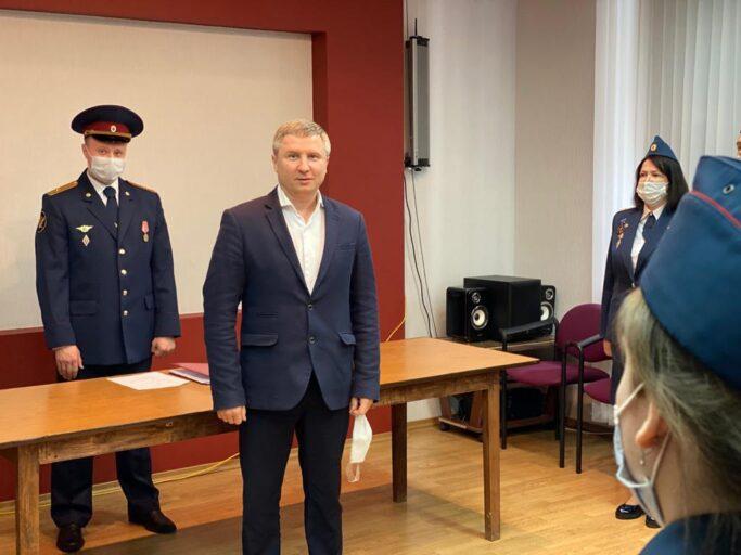 Сотрудники тверского УФСИН приняли присягу в канун Дня Победы
