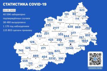 В Тверской области появились новые данные по коронавирусу