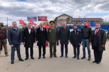 Тверские депутаты поздравили ветеранов войны