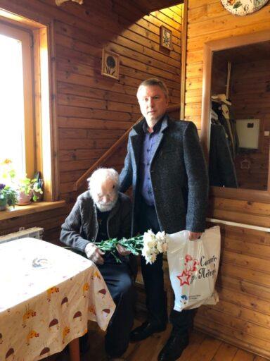 В Тверской области ветеранов войны поздравили с Днём Победы