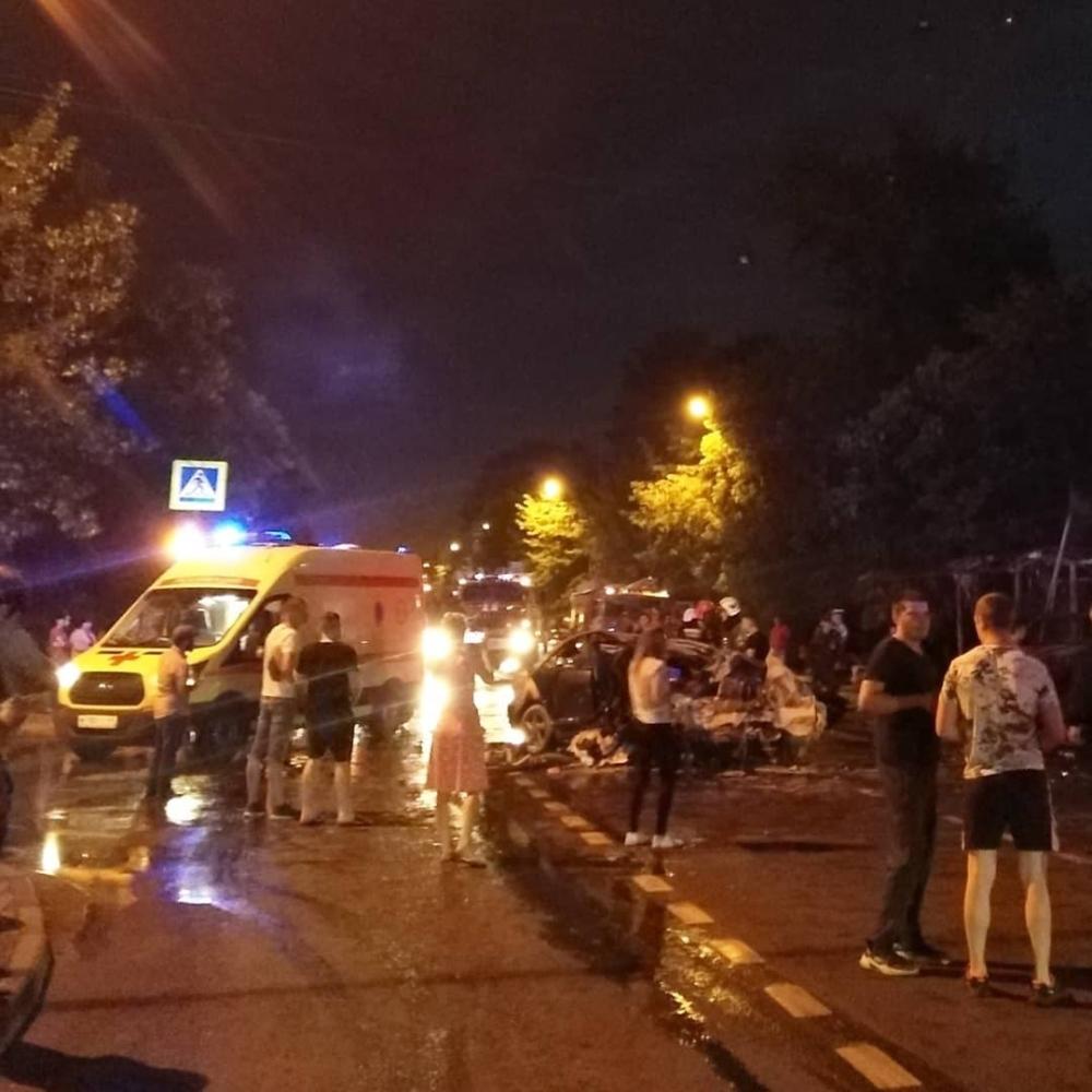 В Твери произошла страшная авария