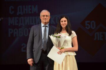 В Тверской области Калининская ЦРКБ отметила 50-летие