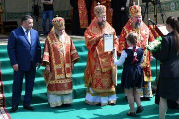 В Тверской области проходят торжества в честь 500-летия обретения мощей святого Макария Калязинского