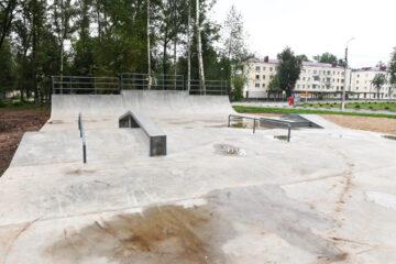 В Ржеве Тверской области создаётся скейт-парк