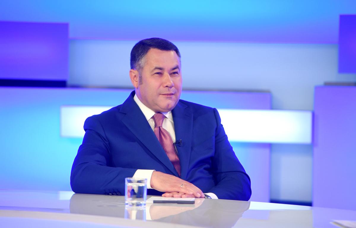 Игорь Руденя ответил на вопросы жителей в прямом эфире