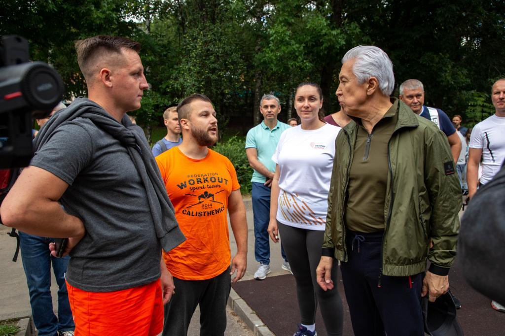 «Дворовые тренеры» в Твери проведут занятия для всех желающих