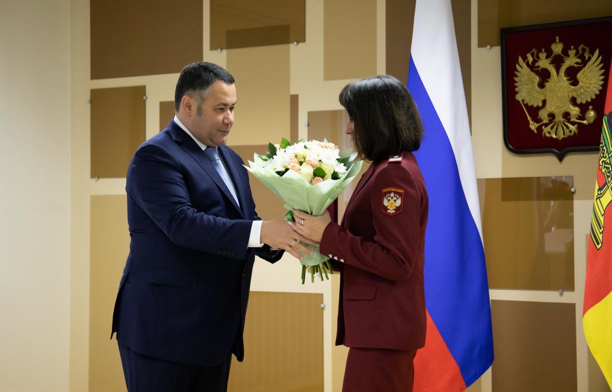 Сотрудникам Роспотребнадзора по Тверской области вручили награды