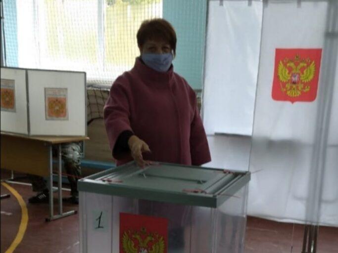 В Калининском районе Тверской области избиратели голосуют с утра