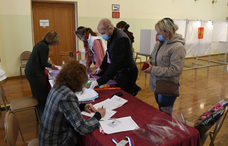 В Тверской области началось голосование на выборах