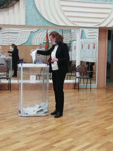 В Тверской области голосует Калининский район