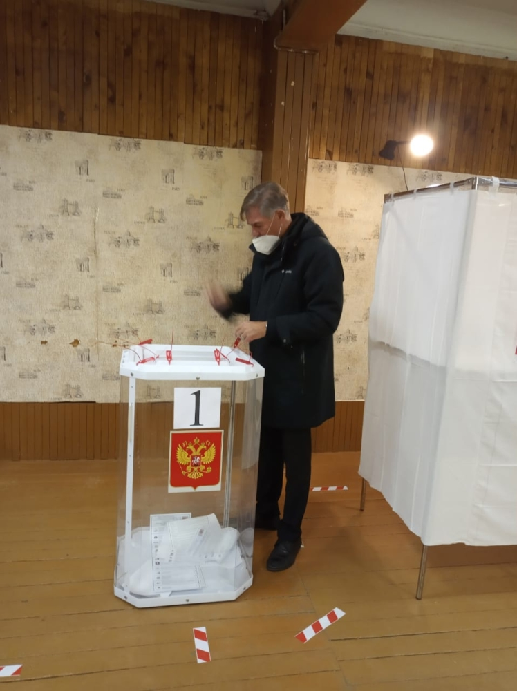 В Тверской области жители Каблуковского поселения активно проголосовали в первый день выборов