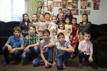 Многодетная семья Тверской области приняла участие в голосовании
