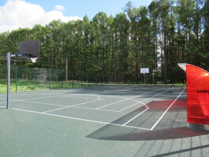 В городе Рамешки Тверской области обустроили современную спорт-площадку