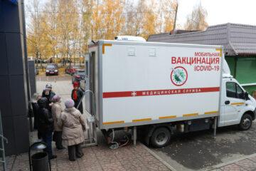 В Твери сообщили о работе мобильных прививочных пунктов