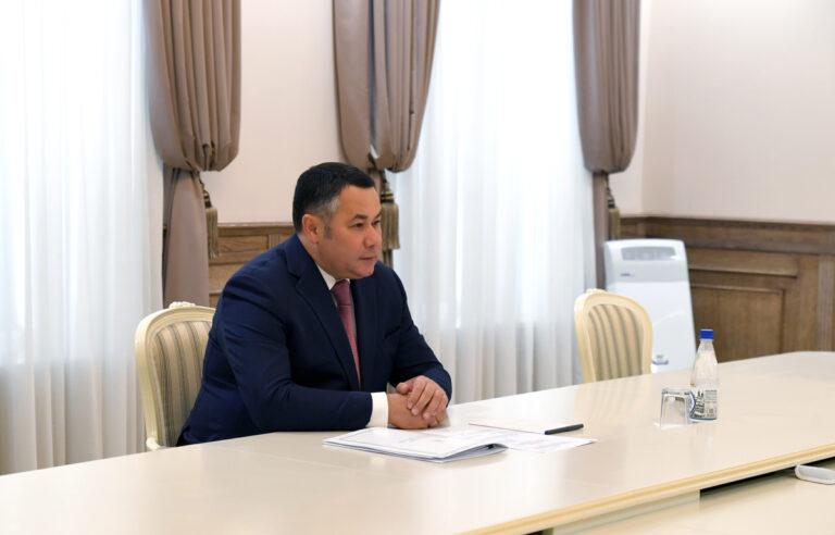Губернатору Тверской области сообщили о ликвидации последствий ЧП