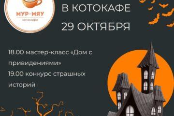В Твери проведут «мяукающий» хэллоуин в котокафе