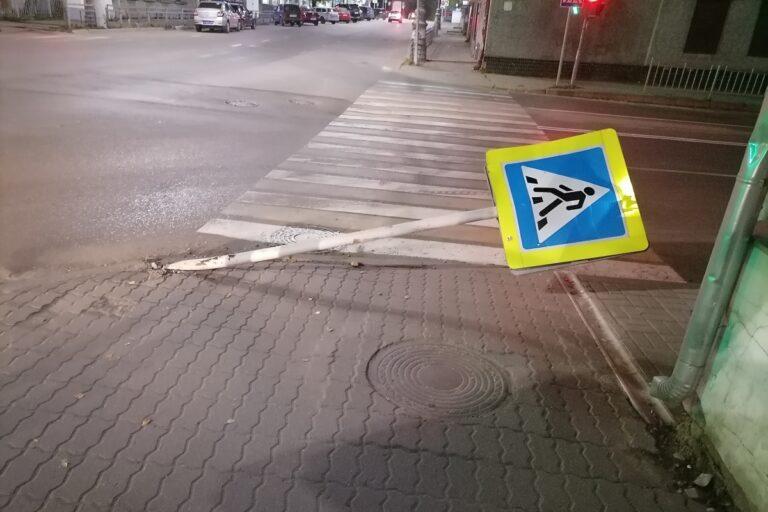 В Тверской области произошел инцидент с дорожным знаком