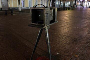 Из центра Твери украли ткань с фотоаппарата